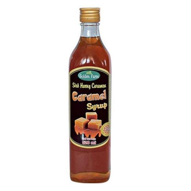 Siro GoldenFarm Caramel 2.0L