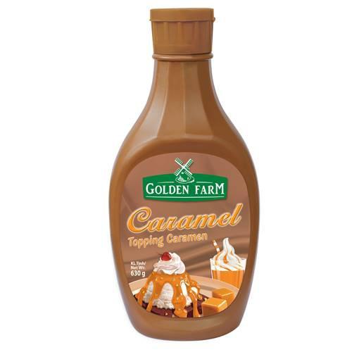 Sốt GoldenFarm Caramel 630g