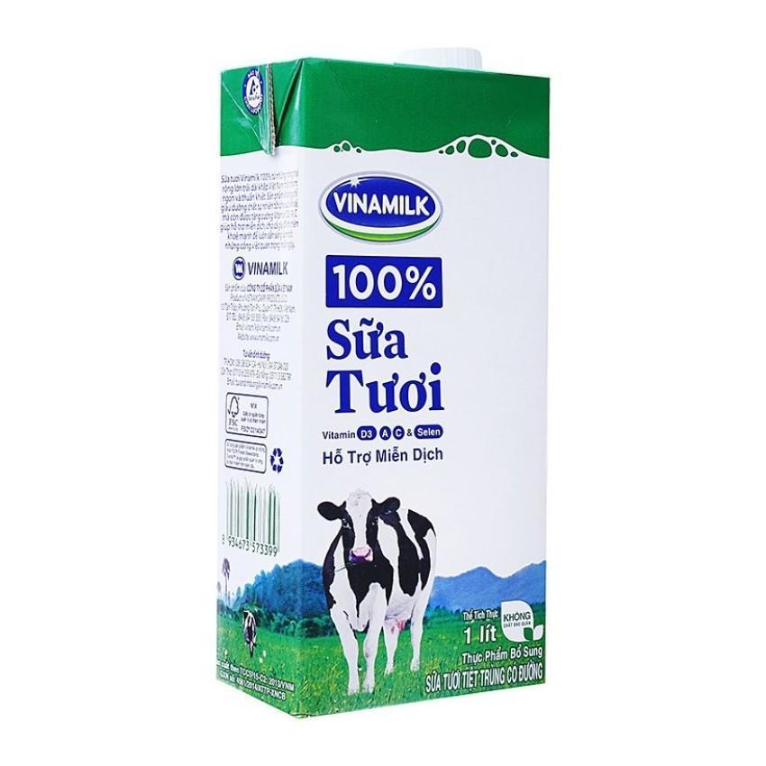 Sữa Tươi Vinamilk 1 lít
