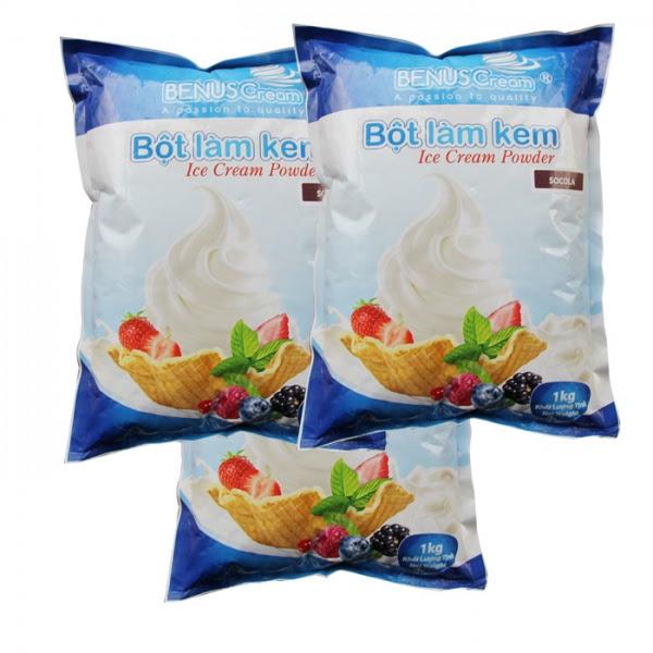 Bột làm kem Đại Song Việt Socola