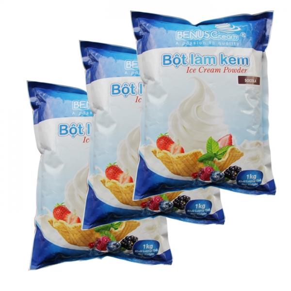 Bột làm kem Đại Song Việt Dâu