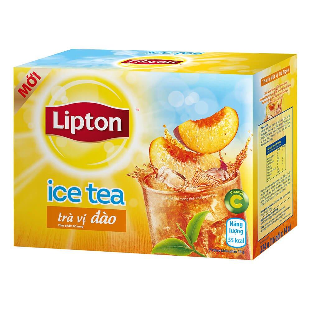 Trà Đào Lipton