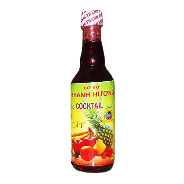 Siro Thanh Hương Trái Cây Đỏ