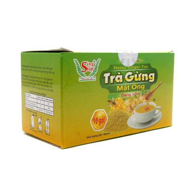 Trà gừng Sing Việt Dạng Cốm